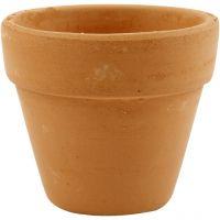 Blumentopf, H: 6,5 cm, D: 7 cm, 24 Stk/ 1 Box