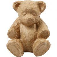 Bär, H: 18 cm, L: 15 cm, 1 Stk