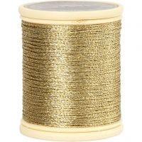 DMC Metallfaden, Dicke 0,36 mm, Gold, 40 m/ 1 Rolle
