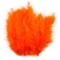 Federn, Größe 5-12 cm, Orange, 15 Stk/ 1 Pck