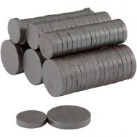 Magnete, D: 14+20 mm, Dicke 3 mm, 2x250 Stk/ 1 Pck