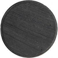 Magnete, D: 20 mm, Dicke 3 mm, 50 Stk/ 1 Pck