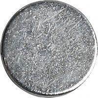 Supermagnet, D: 10 mm, Dicke 2 mm, 10 Stk/ 1 Pck