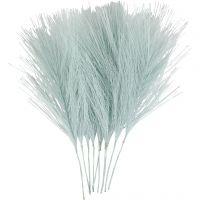 Künstliche Federn, L: 15 cm, B: 8 cm, Hellblau, 10 Stk/ 1 Pck