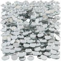 Spiegelmosaik, rund, D: 10 mm, 500 Stk/ 1 Pck