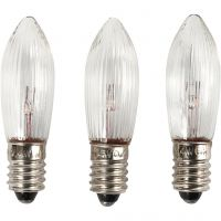 LED-Lämpchen, H: 45 mm, D: 15 mm, 3 Stk/ 1 Pck