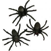 Spinnen, Größe 4 cm, 10 Stk/ 1 Pck
