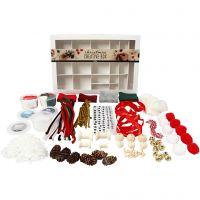 Kreativbox, Traditionelle Weihnachten, 1 Set