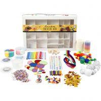 Kreativbox, Regenbogen, 1 Set