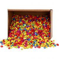 Mosaiksteine, Größe 8-10 mm, Kräftige Farben, 8 kg/ 1 Pck