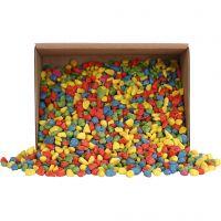 Mosaiksteine, Größe 8-10 mm, Kräftige Farben, 2 kg/ 1 Pck