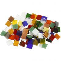 Glasmosaik, Größe 10x10 mm, 454 g/ 1 Pck