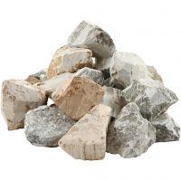 Speckstein - Sortiment, Inhalt kann variieren , Sortierte Farben, 5x10 kg/ 1 Pck