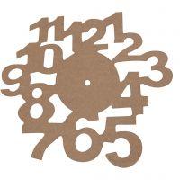 Ziffernblatt, D: 30 cm, Dicke 3 mm, 1 Stk