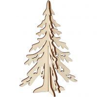 Weihnachtsbaum, H: 20 cm, B: 13 cm, 1 Stk