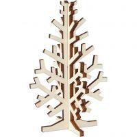 Weihnachtsbaum, H: 12 cm, B: 7,5 cm, 1 Stk