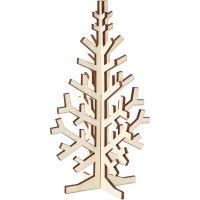 Weihnachtsbaum, H: 20 cm, B: 12 cm, 1 Stk