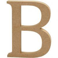 Buchstabe, B, H: 13 cm, Dicke 2 cm, 1 Stk