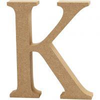 Buchstabe, K, H: 13 cm, Dicke 2 cm, 1 Stk