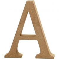 Buchstabe, A, H: 8 cm, Dicke 1,5 cm, 1 Stk