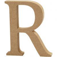 Buchstabe, R, H: 8 cm, Dicke 1,5 cm, 1 Stk