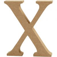 Buchstabe, X, H: 8 cm, Dicke 1,5 cm, 1 Stk