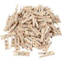Holzklammer, L: 25 mm, B: 3 mm, 100 Stk/ 1 Pck