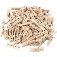 Holzklammern, L: 30 mm, B: 3 mm, 100 Stk/ 1 Pck