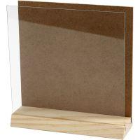 Briefständer, Größe 15x15 cm, 1 Set