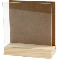 Briefständer, Größe 10x10 cm, 1 Set