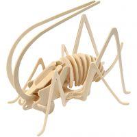 3D-Holzpuzzle, Grille, Größe 22,5x15x18 cm, 1 Stk