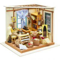 DIY-Miniatur-Zimmer, H: 19 cm, B: 22,5 cm, 1 Stk