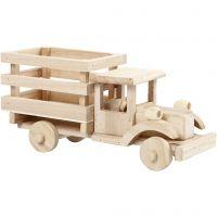 Lastwagen, H: 11 cm, L: 22 cm, B: 7,5 cm, 1 Stk