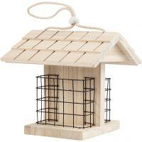 Vogelfutterstation, H: 17.5 cm, L: 11.6 cm, B: 13,5 cm, 1 Stk