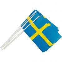 Partyflagge, Größe 20x25 cm, 10 Stk/ 1 Pck