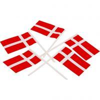 Kuchenflagge, Größe 30x50 mm, 100 Stk/ 1 Pck