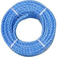 Polypropylen-Seil, Dicke 6 mm, 20 m/ 1 Rolle
