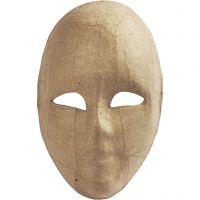 Maske, H: 23 cm, B: 16 cm, 1 Stk