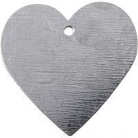 Herz aus Metall, Größe 30x30 mm, 15 Stk/ 1 Pck