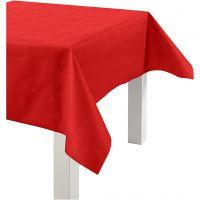 Tischdecke aus Stoff-Imitat, B: 125 cm, 70 g, Rot, 10 m/ 1 Rolle