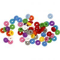 Anschlagringe, Sortierte Farben, 48 Stk/ 1 Pck