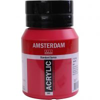 Amsterdam Acrylfarbe, Transparent, Primary magenta, 500 ml/ 1 Fl.