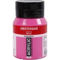Amsterdam Acrylfarbe, Deckend, Perm.Rotviolett Hell (577), 500 ml/ 1 Fl.