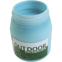 Outdoor-Farbe, Türkisblau, 250 ml/ 1 Fl.