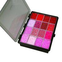 Rocaille Seed Beads, D: 1,7+3+4 mm, Größe 6/0+8/0+15/0 , Lochgröße 0,6-1,0+0,9-1,2 mm, Sortierte Farben, 16x100 g/ 1 Pck