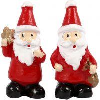 Miniatur-Figuren, H: 35 mm, B: 17 mm, 2 Stk/ 1 Pck
