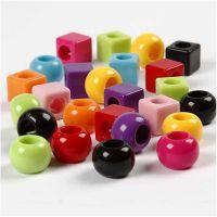 Multimix, Größe 11 mm, Lochgröße 7 mm, Sortierte Farben, 150 ml/ 1 Pck, 75 g