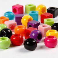 Multimix, Größe 11 mm, Lochgröße 7 mm, Sortierte Farben, 1700 ml/ 1 Pck, 1000 g