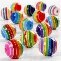 Perlenmischung , D: 12 mm, Lochgröße 1,5 mm, 75 ml/ 1 Pck, 55 g