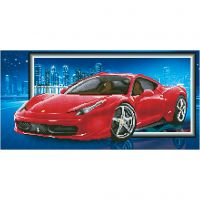 Diamond Dotz, Ferrari, Größe 40x50 cm, 1 Pck